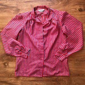 Used, Vintage 1970s Striped Ruggeri Blouse for sale